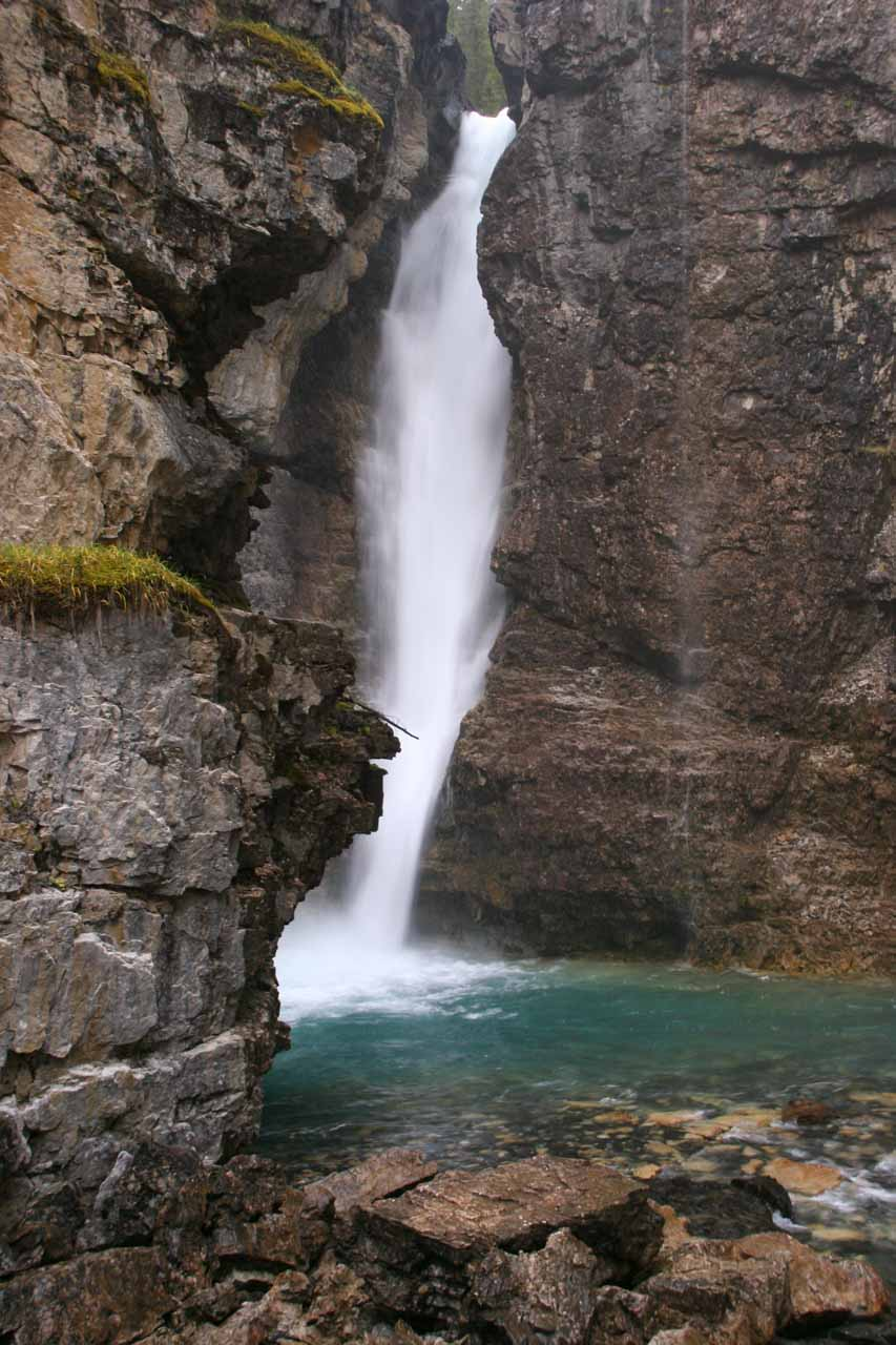 The Upper Johnston Canyon Waterfall