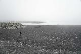 Jokulsarlon_003_08092021 - Approaching the Diamond Beach which was just under the thickening cover of fog near Jokulsarlon