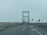 Jokulsarlon_005_iPhone_08092021 - Waiting to cross the single-lane bridge over the runoff coming from Jokulsarlon