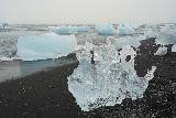 Jokulsarlon_162_08092021 - More strange formations as the icebergs washed ashore at Diamond Beach
