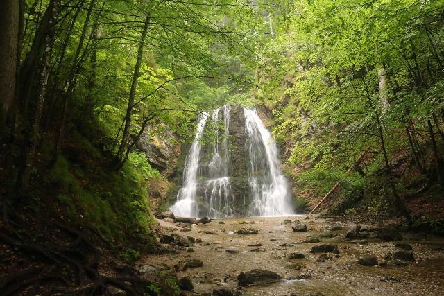 Josefstaler_Waterfall_081_06282018 - The main drop of the Josefsthaler Waterfalls