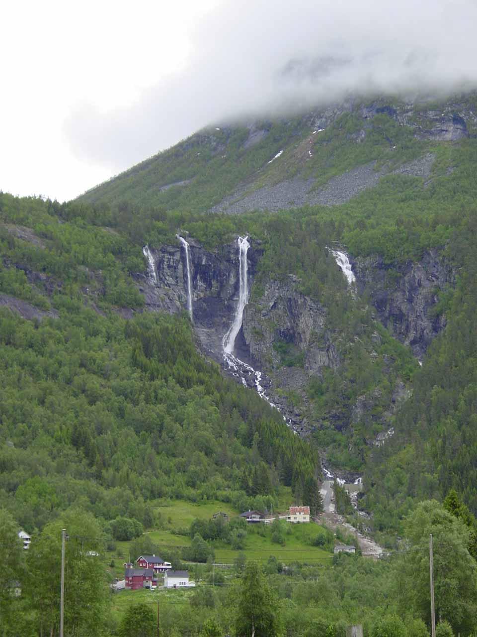 Geisfossen in the Jostedal Valley