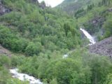 Jostedalen_026_jx_06282005 - Context of the waterfall shown in the photo above