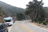Julia_Pfeiffer_Burns_SP_004_11172018 - Walking towards the turnoff leading into Julia Pfeiffer Burns State Park along the Hwy 1 during our November 2018 visit