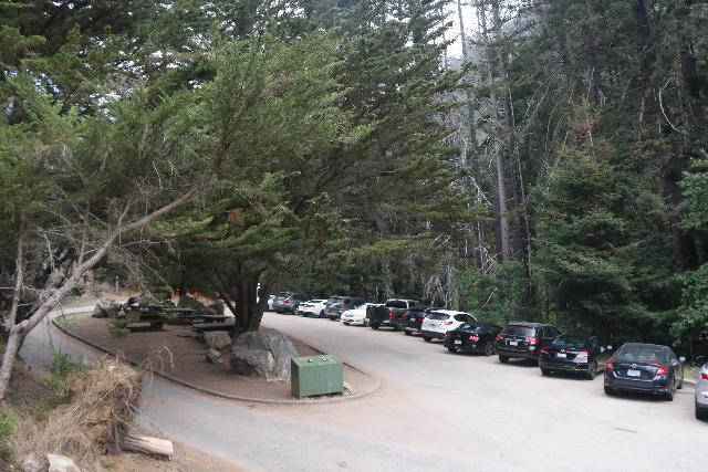 Julia_Pfeiffer_Burns_SP_006_11172018 - The parking lot within the Julia Pfeiffer Burns State Park