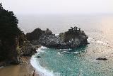 Julia_Pfeiffer_Burns_SP_042_11172018 - Looking towards McWay Falls and McWay Cove from as far as the trail would allow before we hit the closure barricade during our November 2018 visit