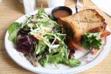Julian_010_01232016 - The sandwich that we shared at Granny's Kitchen in Julian