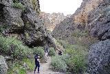 Jump_Creek_Falls_019_04032021 - Ascending the trail after crossing Jump Creek