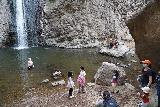 Jump_Creek_Falls_068_04032021 - The crew enjoying themselves at Jump Creek Falls