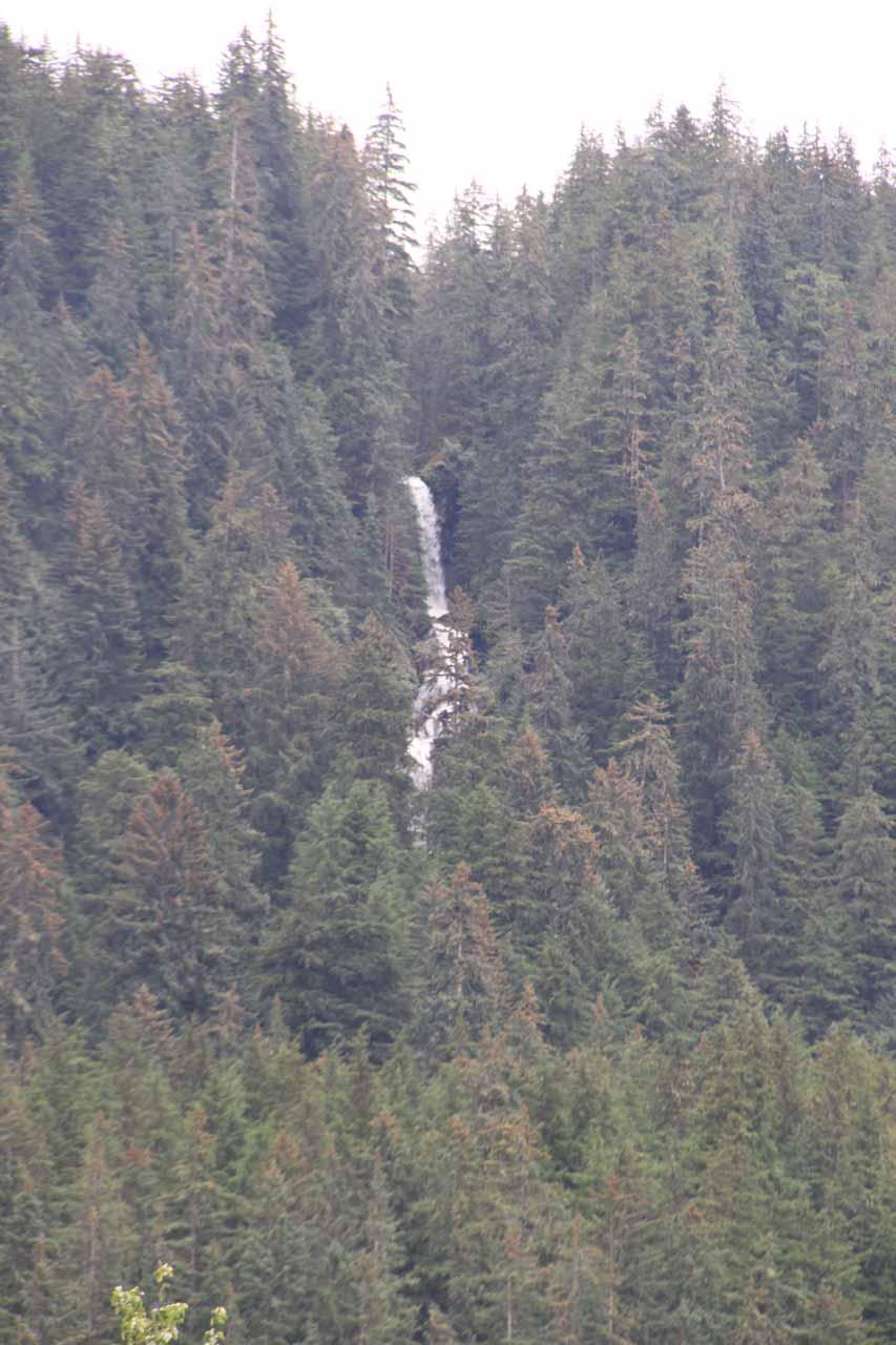 Waterfall seen from the Steep Creek boardwalk