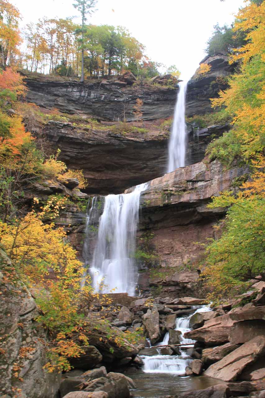4. KAATERSKILL FALLS [Catskill Mountains, New York, USA]