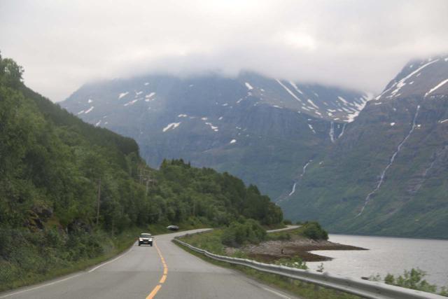 Kafjorden_016_07072019 - Driving south along the E6 into the Kåfjorden