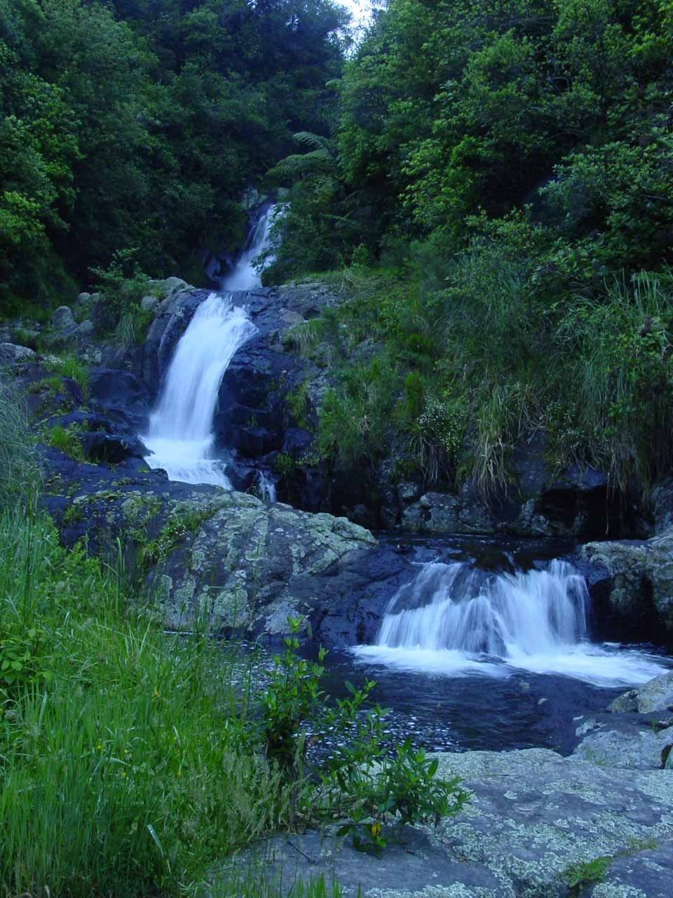 First look at the Upper Kaiate Falls