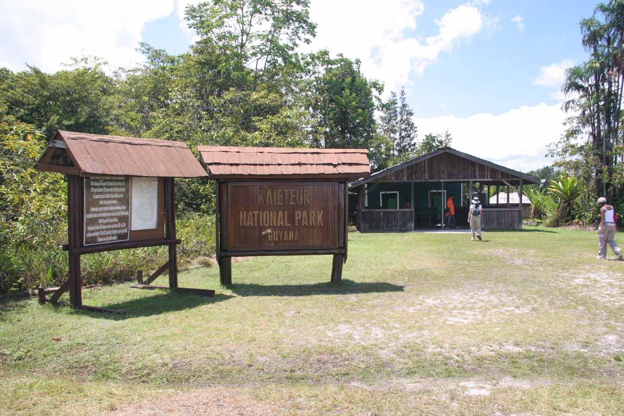 At Kaieteur Falls National Park