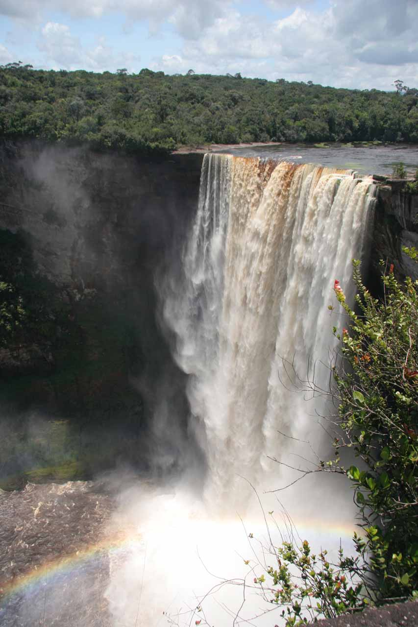 The Rainbow View of Kaieteur Falls