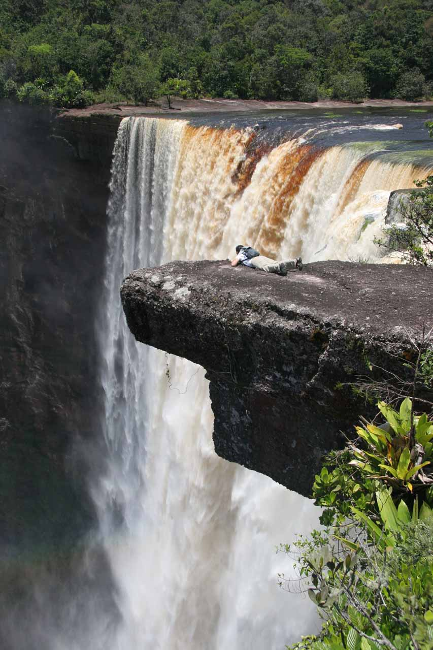 Without waterfalling, we might have never learned about a waterfall in a pristine part of earth such as Kaieteur Falls in Guyana