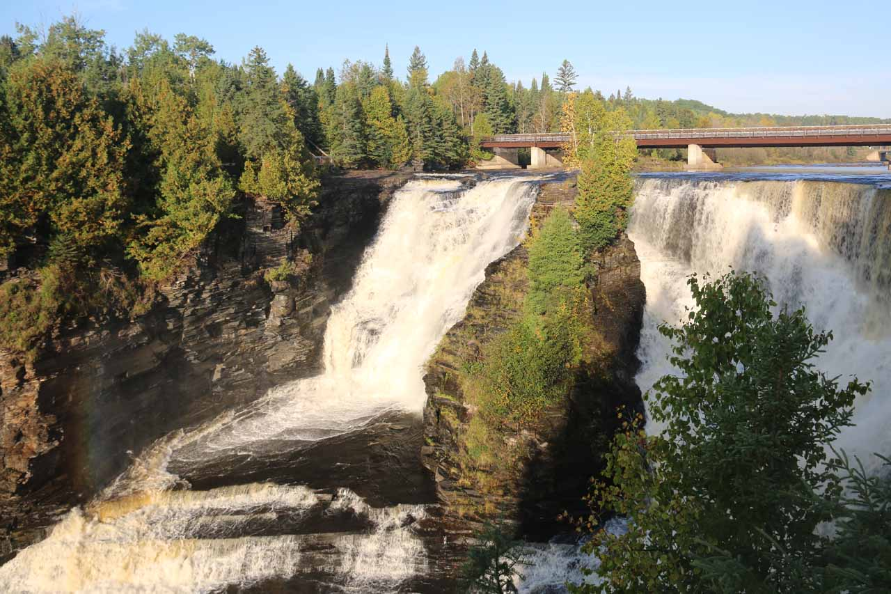 Kakabeka Falls seen from the main lookout