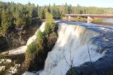 Kakabeka_Falls_141_09272015 - This was probably the most comprehensive partial view of Kakabeka Falls that I could get from the main viewing deck, which just illustrated the fact that you can't capture it all in one shot from this close. Note the lighting difference from the late afternoon photo taken from this same spot
