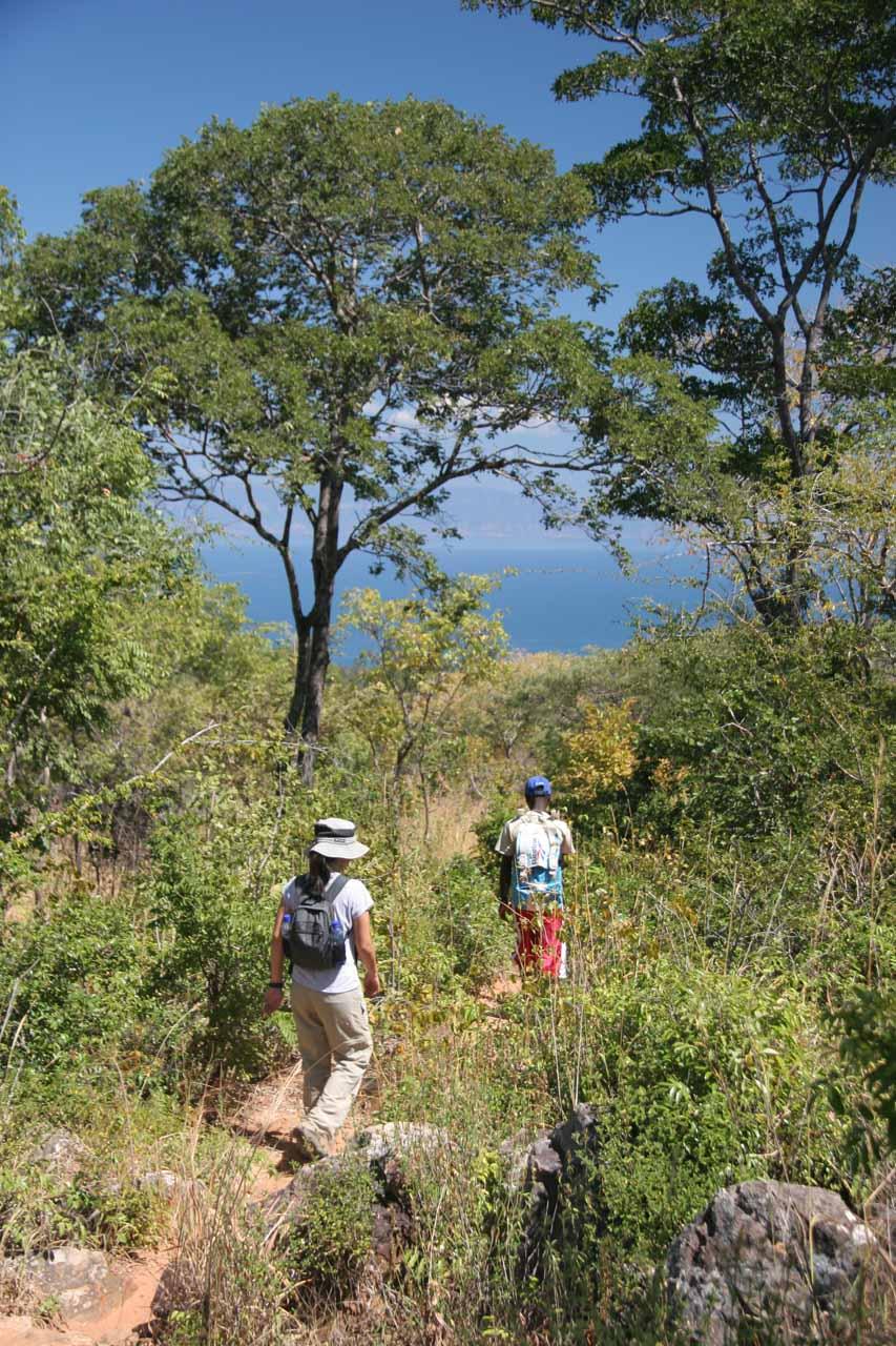 Hastily retreating back to Lake Tanganyika