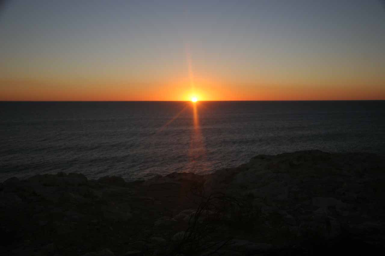Sunset at Kalbarri