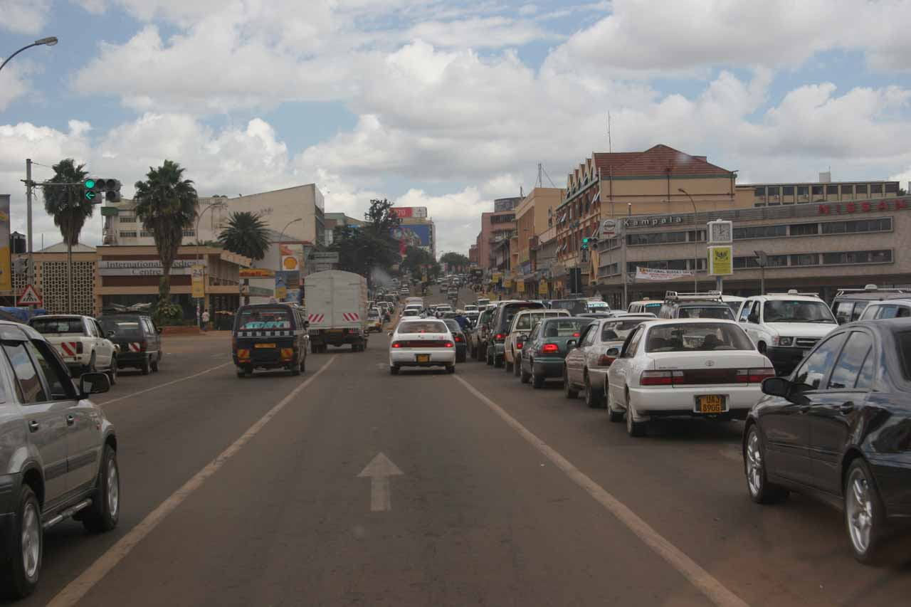 Back at Kampala
