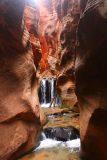 Kanarraville_Falls_283_04052018 - Nature shot of the second ladder and major waterfall of the Kanarraville Falls series