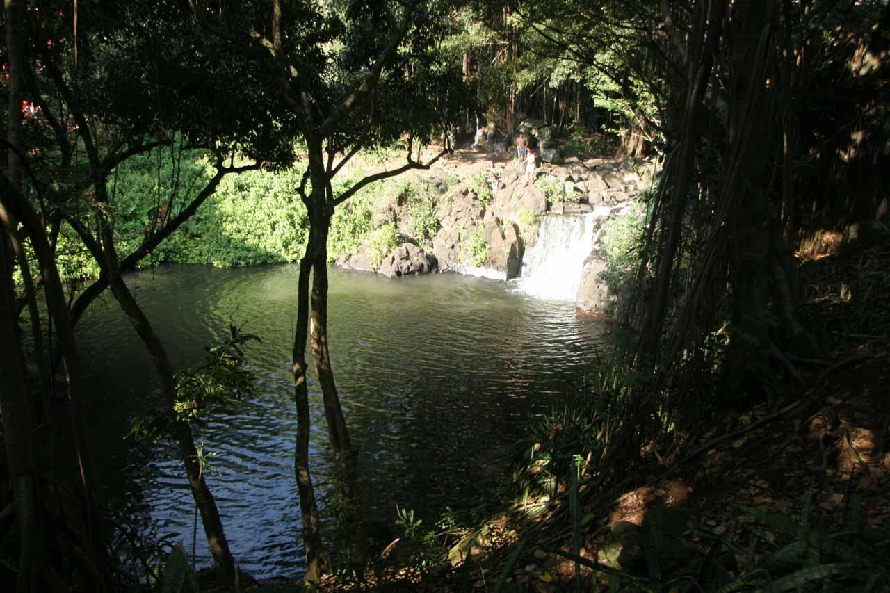 Finally the real Kapena Falls