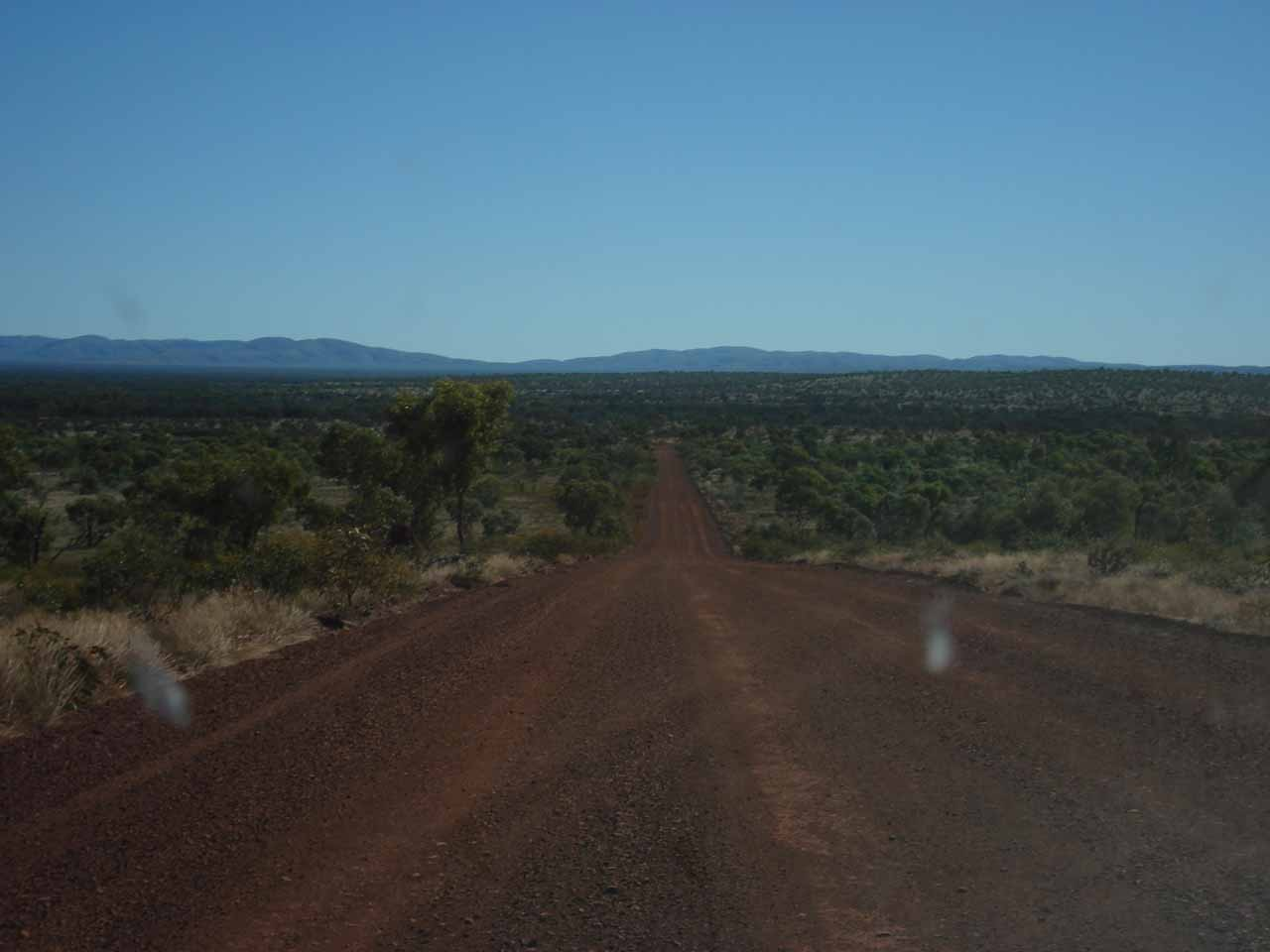 More unsealed driving on the Banjima Drive on our way back to the sealed Karijini Drive