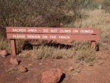 Kata_Tjuta_003_jx_06022006 - Sign telling us to leave the domes alone