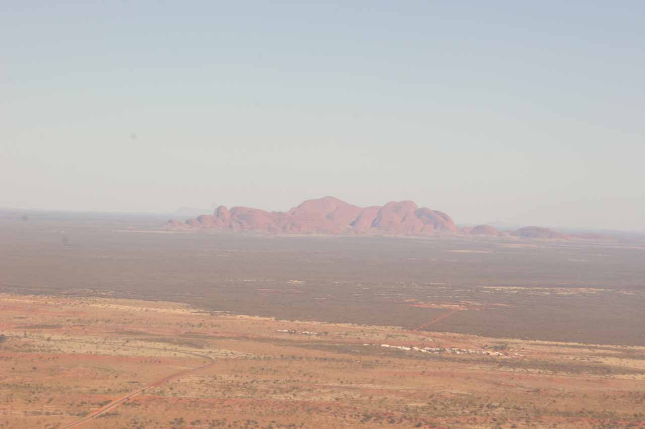 Kata Tjuta in the distance