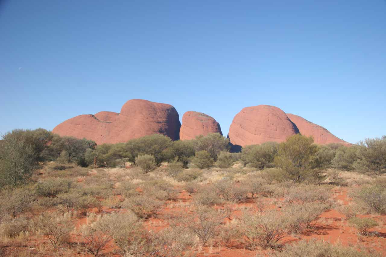 Brighter look back at the Kata Tjuta