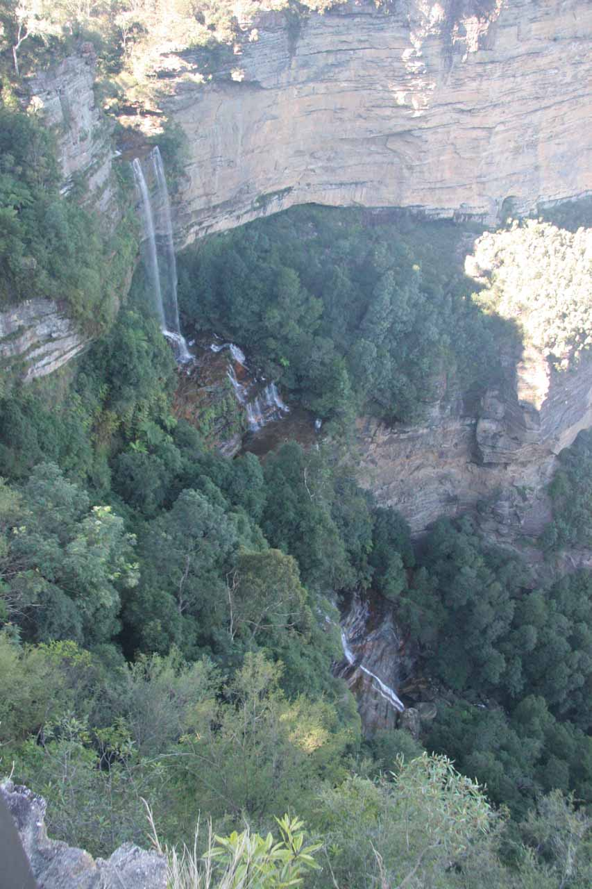 Katoomba Falls in a fine Autumn day