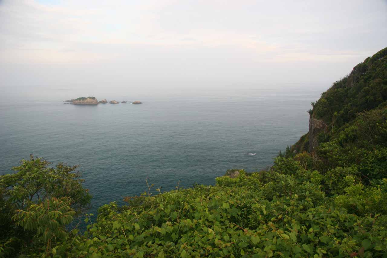Looking out towards the ocean from Kii-Katsuura