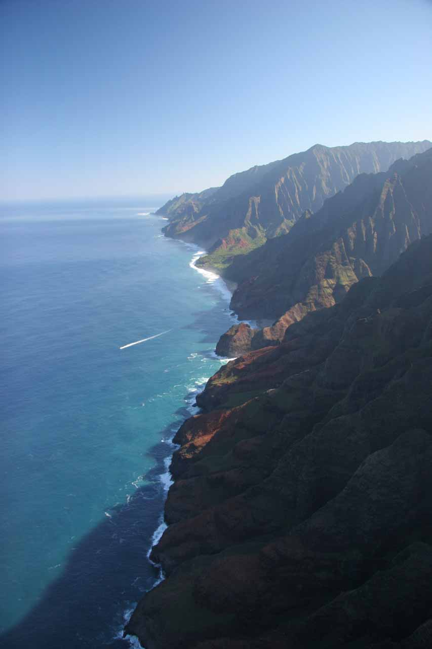 Na Pali Coast again.  This time from our comped tour with Inter Island Helicopters
