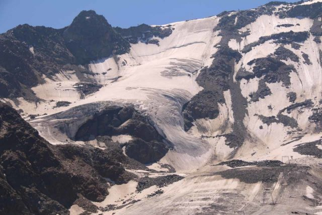 Kaunertal_178_07192018 - The Kaunertal Glacier was one of a handful of glaciers feeding the waterfalls spilling into the Kaunertal Valley