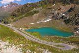 Kaunertal_229_07192018 - Looking down at the small lake besides the Kaunertal Glacier Road