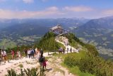 Kehlstein_097_07012018 - As rushed as our visit was, we still had to make our way back to the Kehlsteinhaus in order to take the elevator back down to the tunnel and catch our scheduled bus ride back down to the car park