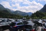 Kehlstein_181_07012018 - Arriving at the very busy and huge parking lot for Konigssee