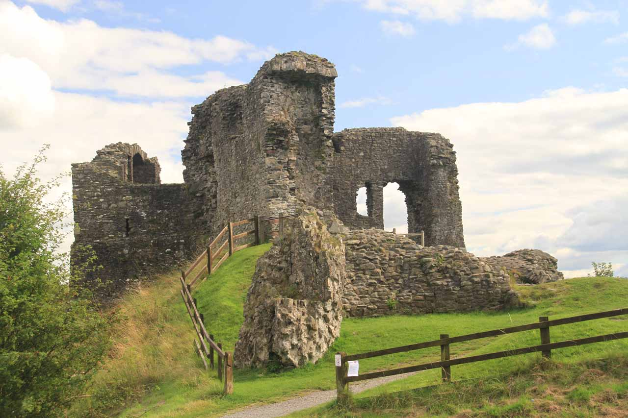 One of the more prominent ruins of Kendal Castle