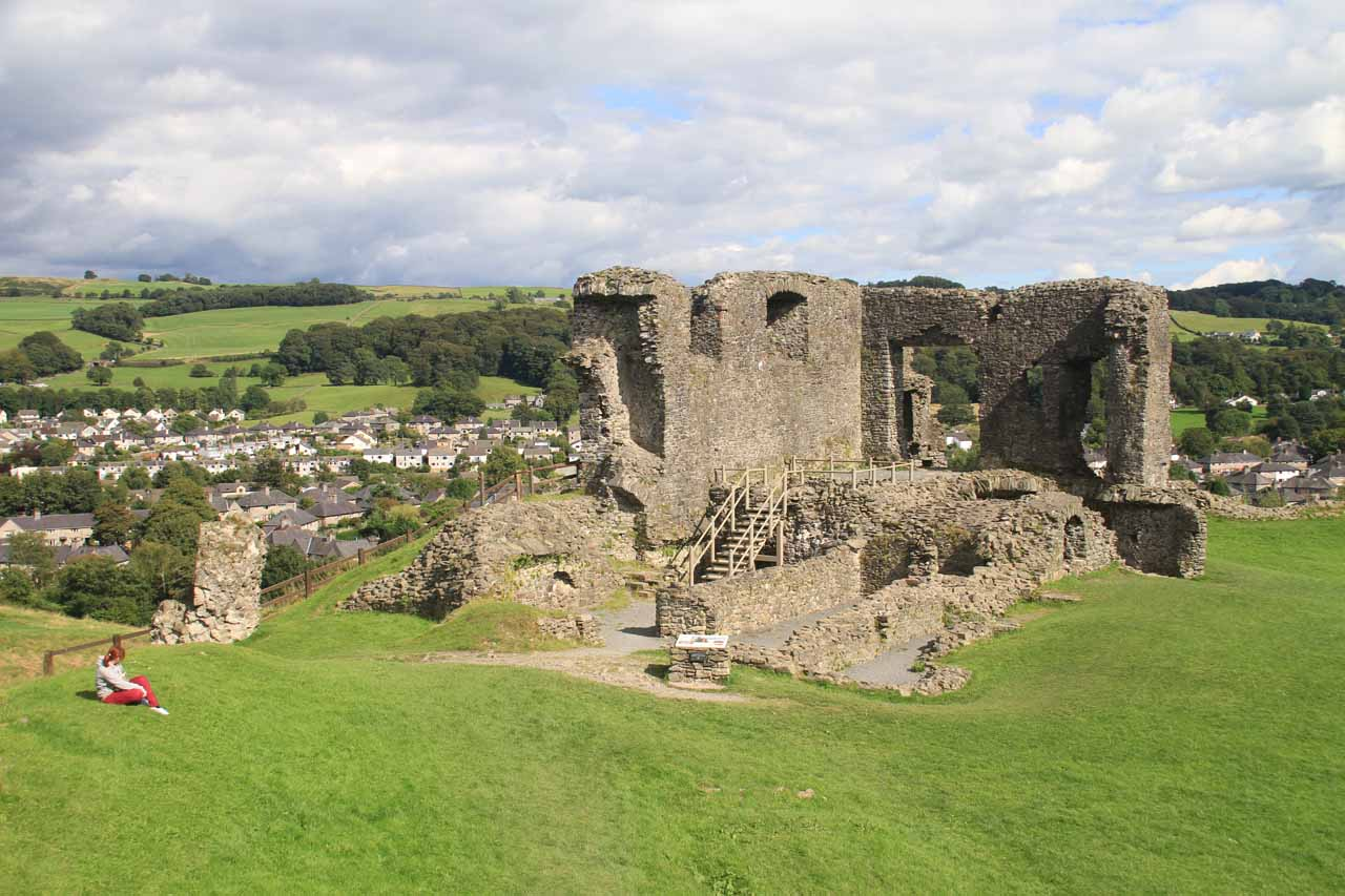Context of the ruins of Kendal Castle