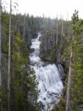Kepler_Cascades_001_jx_01192004 - This was what the Kepler Cascades looked like back in June 2004.  As you can see, not much had changed regarding this waterfall over the years