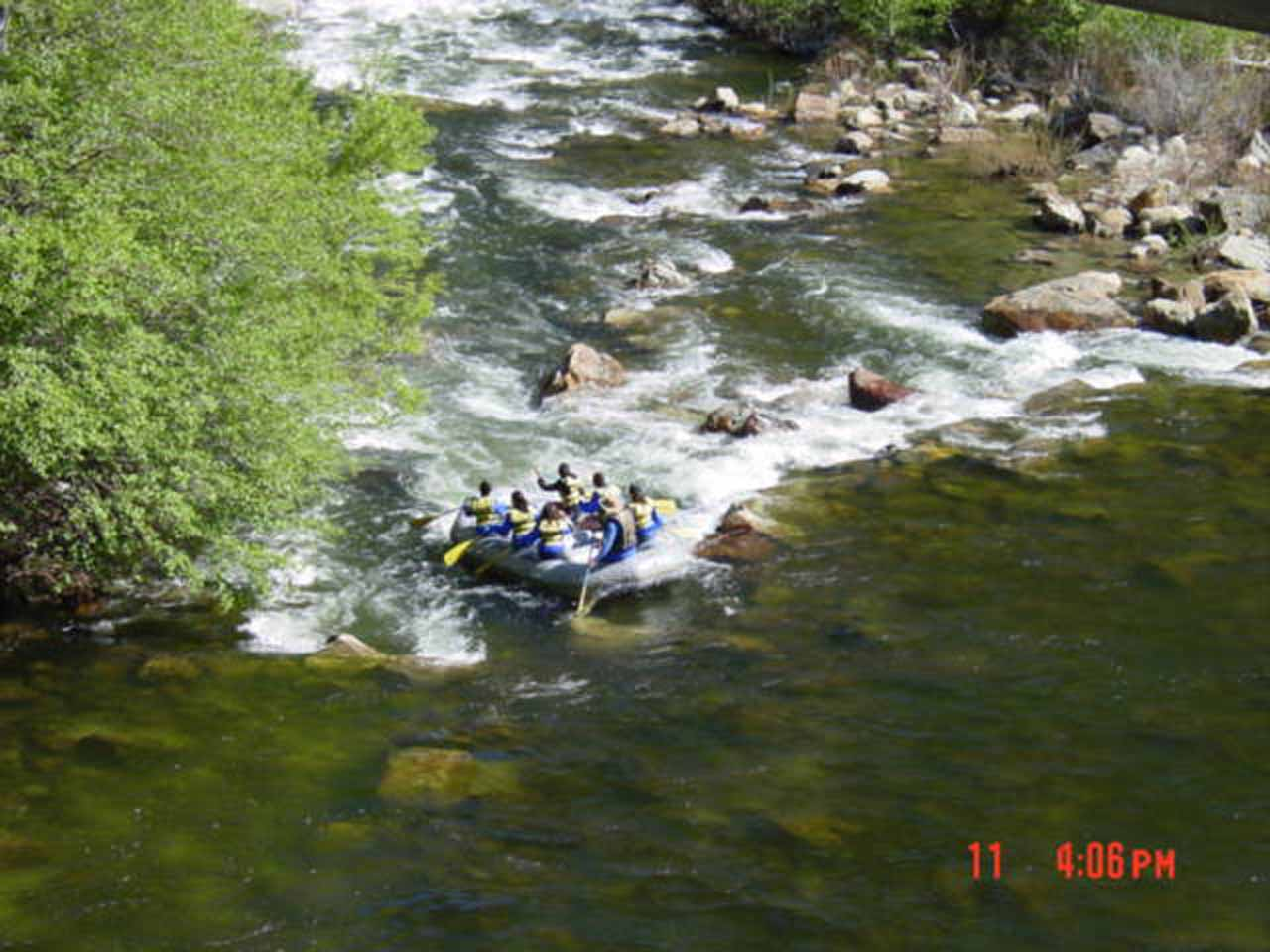 Nearby South Creek Falls is the Kern River, which is popular for whitewater rafting