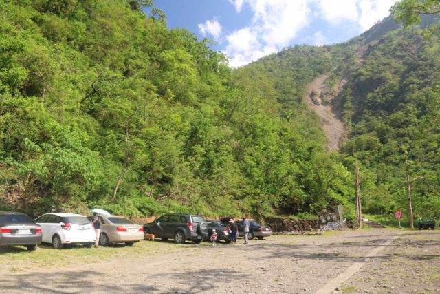 Keyoufeng_Waterfall_003_10282016 - Arriving at the car park for the Kayoufeng Waterfall