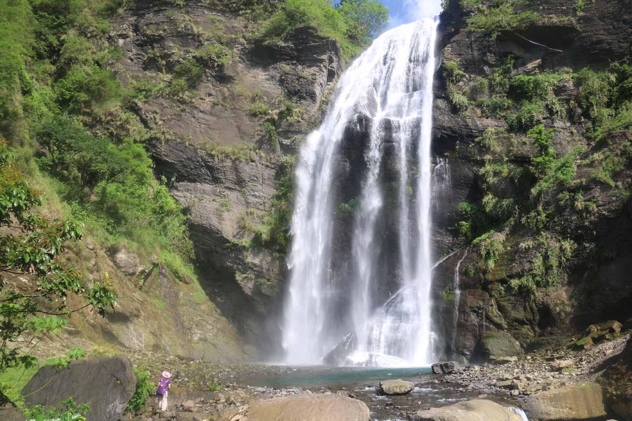 The Kayoufeng Waterfall