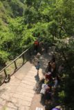 Keyoufeng_Waterfall_098_10282016 - Looking back down from the Kayoufeng Waterfall viewing platform at the viewing area where an increasing number of visitors were gathering on the Sunday morning we were here