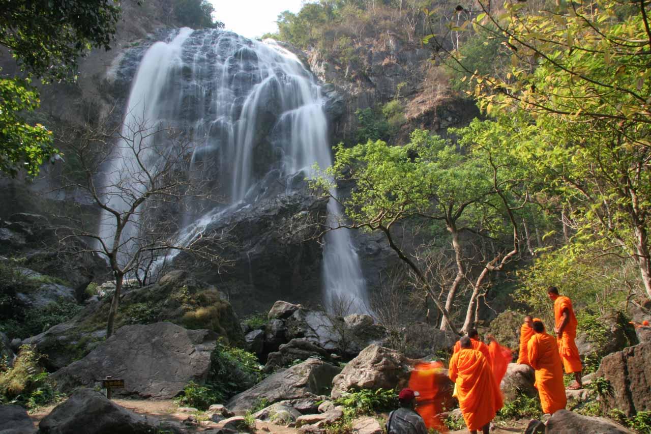 The Khlong Lan Waterfall