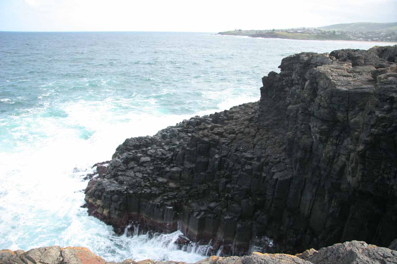 Some interesting basalt formations on the coast by Kiama