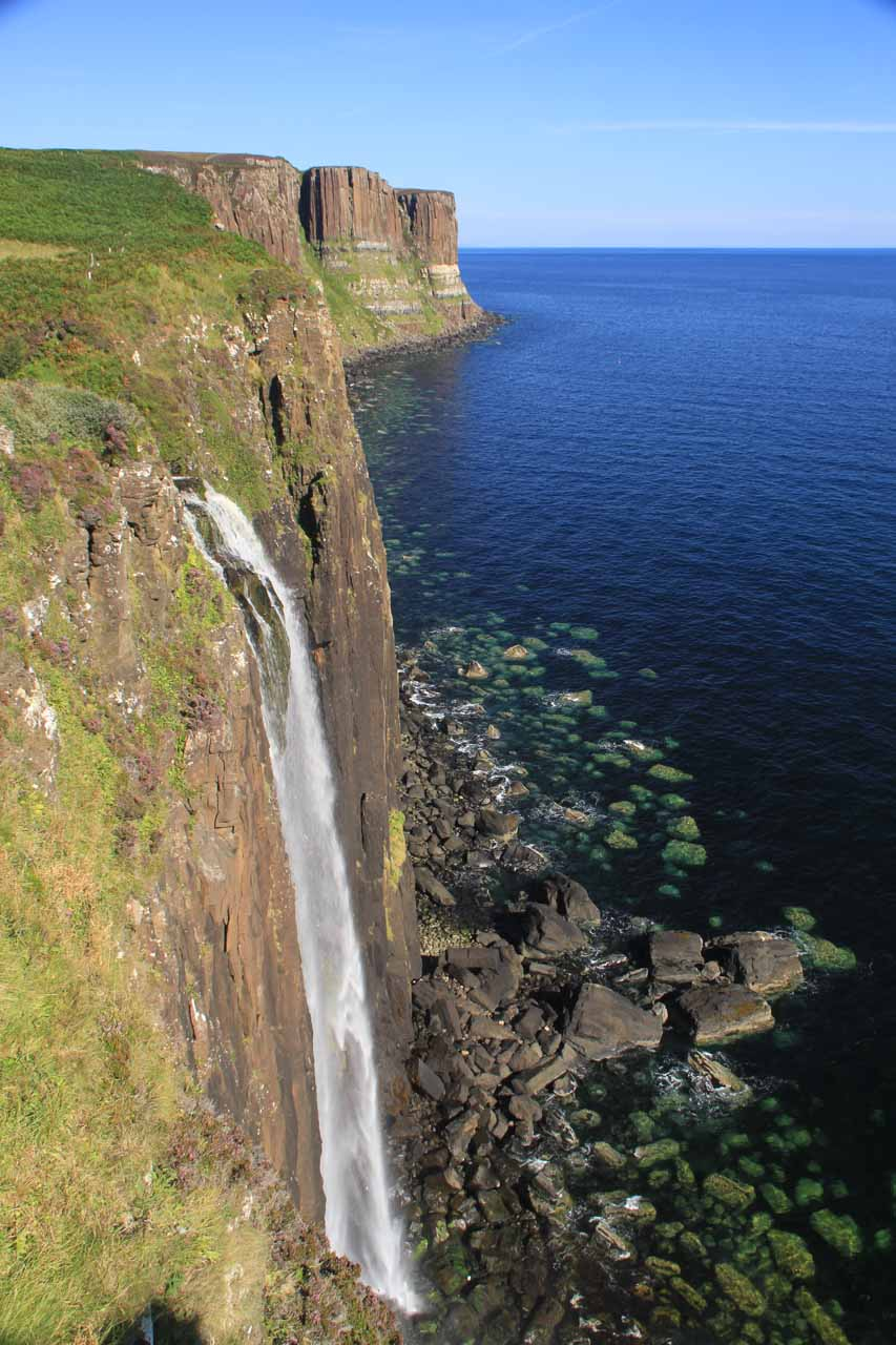 Mealt Falls and Kilt Rock