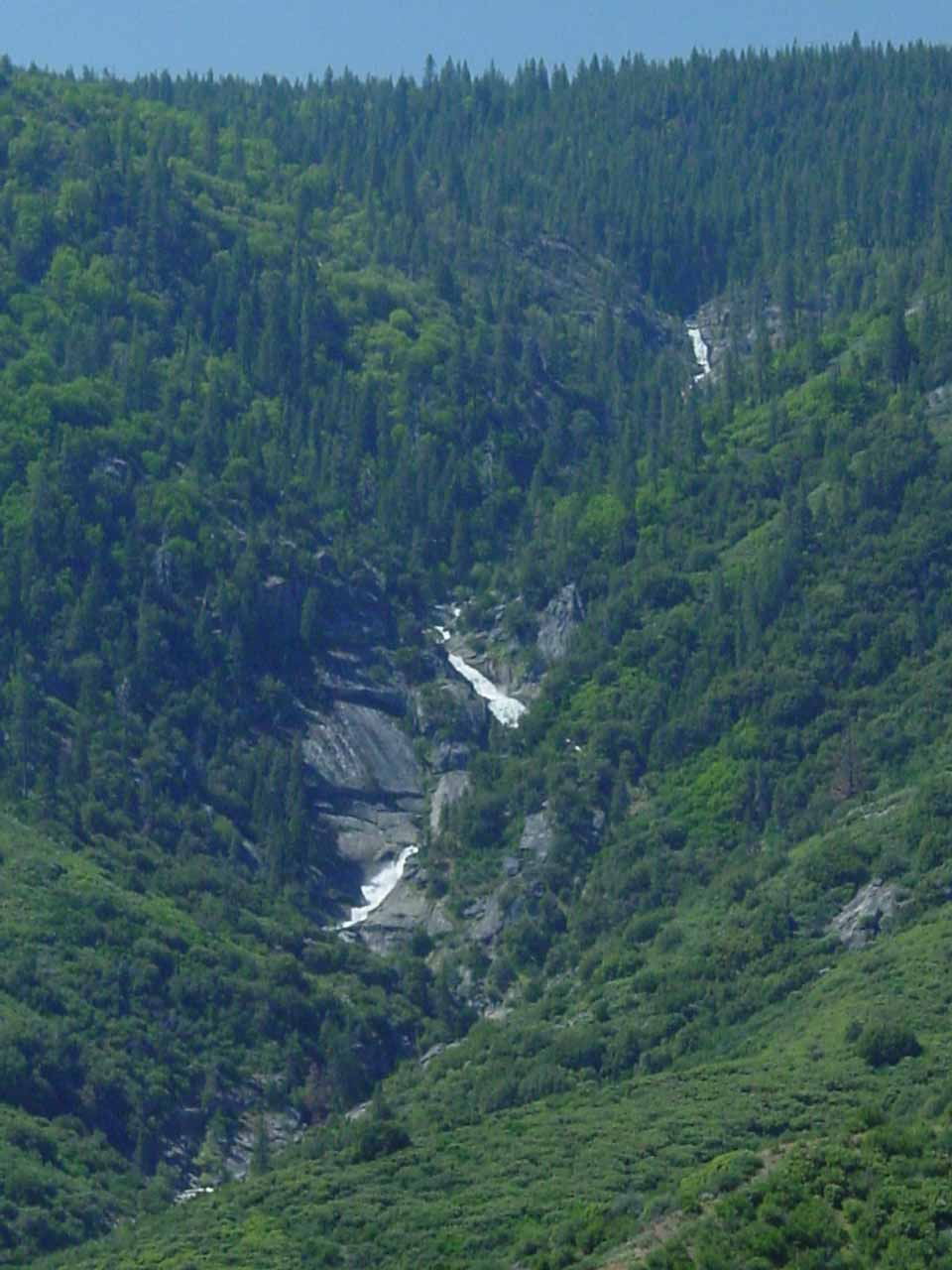 The cascades on Ten Mile Creek