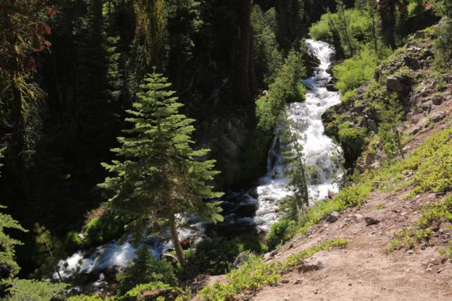 Kings_Creek_Falls_063_07122016 - Looking upstream at one of the attractive cascades on Kings Creek